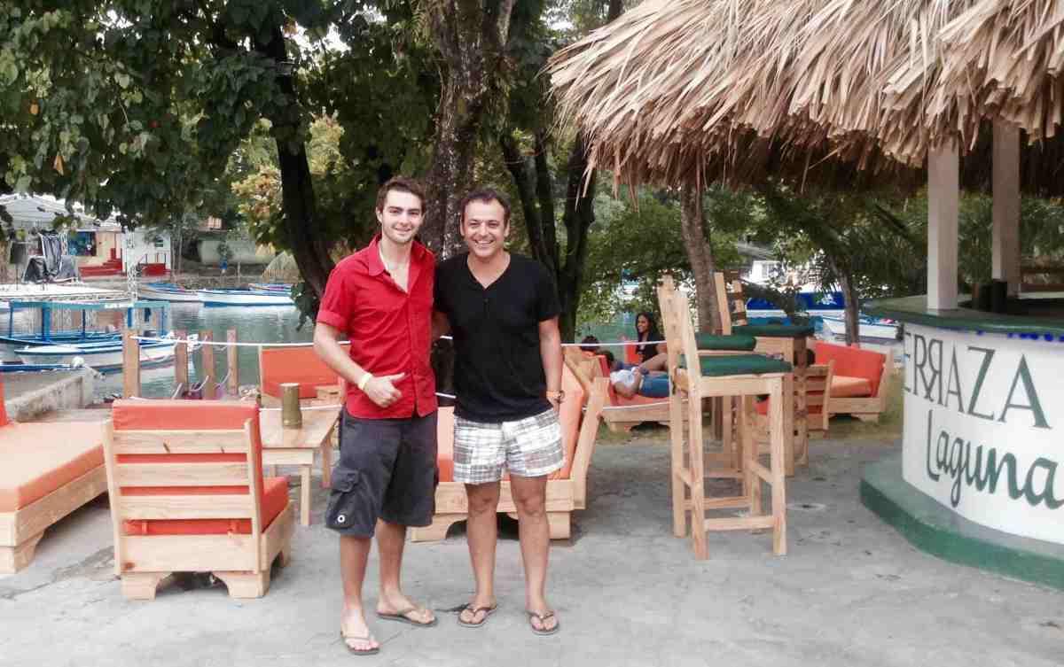 encontrar pedro esteves rafael matos terraza laguna pueblo turismo guía mi río san juan maría trinidad sánchez república dominicana